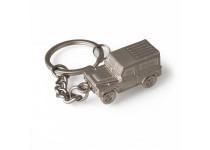 Defender Keyring - Silver